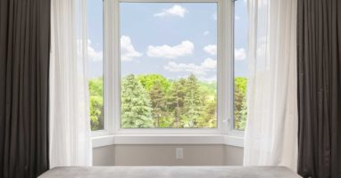 What are bay windows?